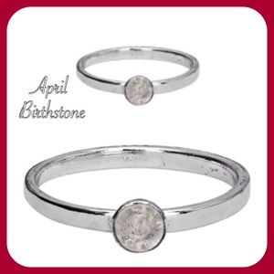 Jewelry - Sterling Silver Birthstone Ring